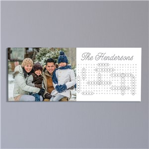 Photo Gifts | Word Search Personalized Art