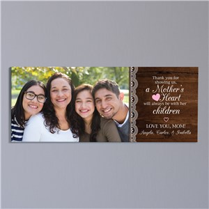 Personalized Photo Canvas for Mom