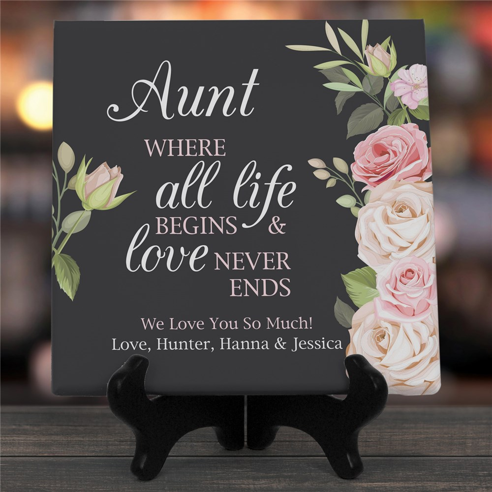Personalized Mother's Day Canvas