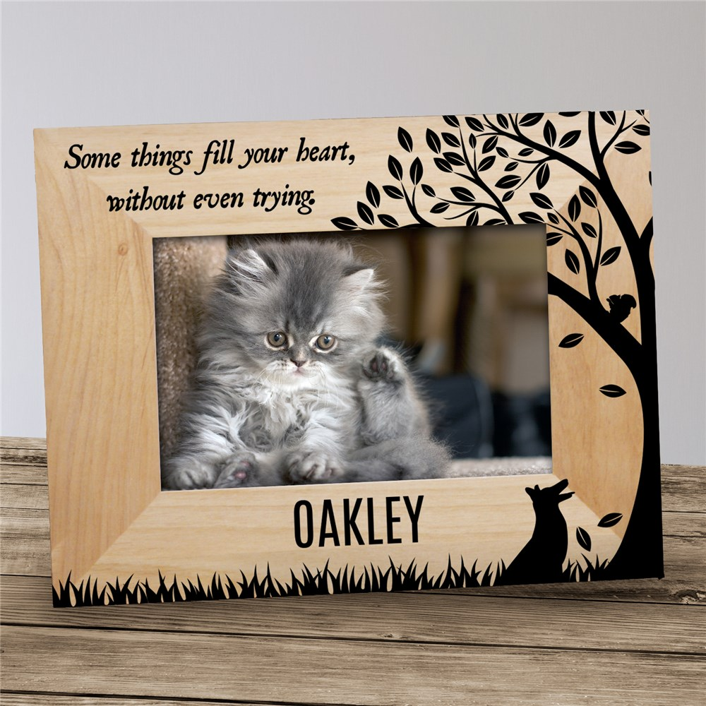 Personalized Some Things Fill Your Heart Pet Frame | Personalized Pet Frames