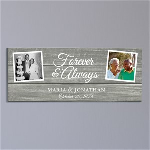 Personalized Forever & Always Canvas 91173334