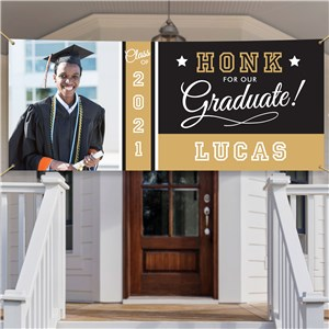 Personalized HONK for our Graduate! Banner 911757441