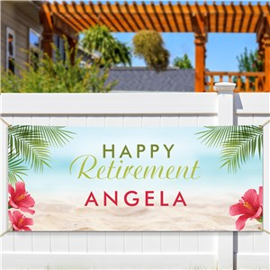 Personalized Paradise Banner 911776814