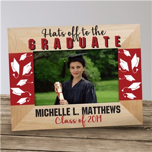Hats off to the Graduate Personalized Picture Frame | Personalized Graduation Frame