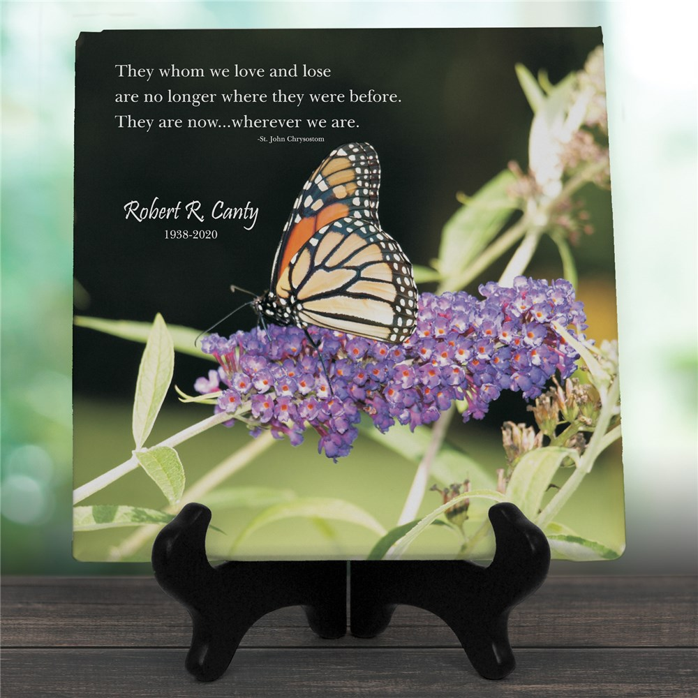 Wherever We Are Personalized Memorial Photo Wall Canvas | Memorial Gifts