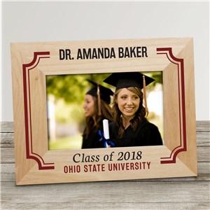 Class of Personalized Picture Frame | Personalized Graduation Gifts