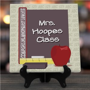 Teachers Class Personalized Wall Canvas | Personalized Teacher Gifts