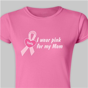 I Wear Pink For Shirt | Breast Cancer Pink Shirt