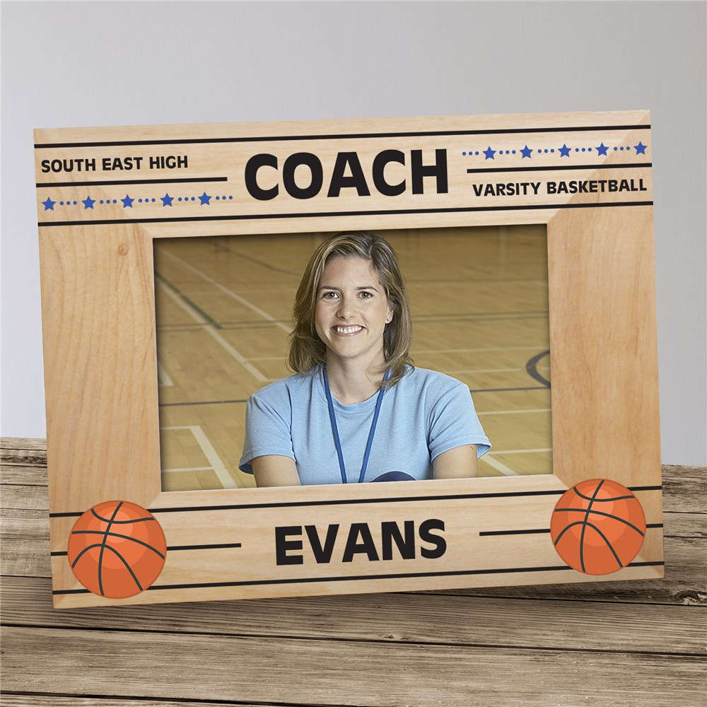 Personalized Coach Picture Frame | Personalized Coach Gifts