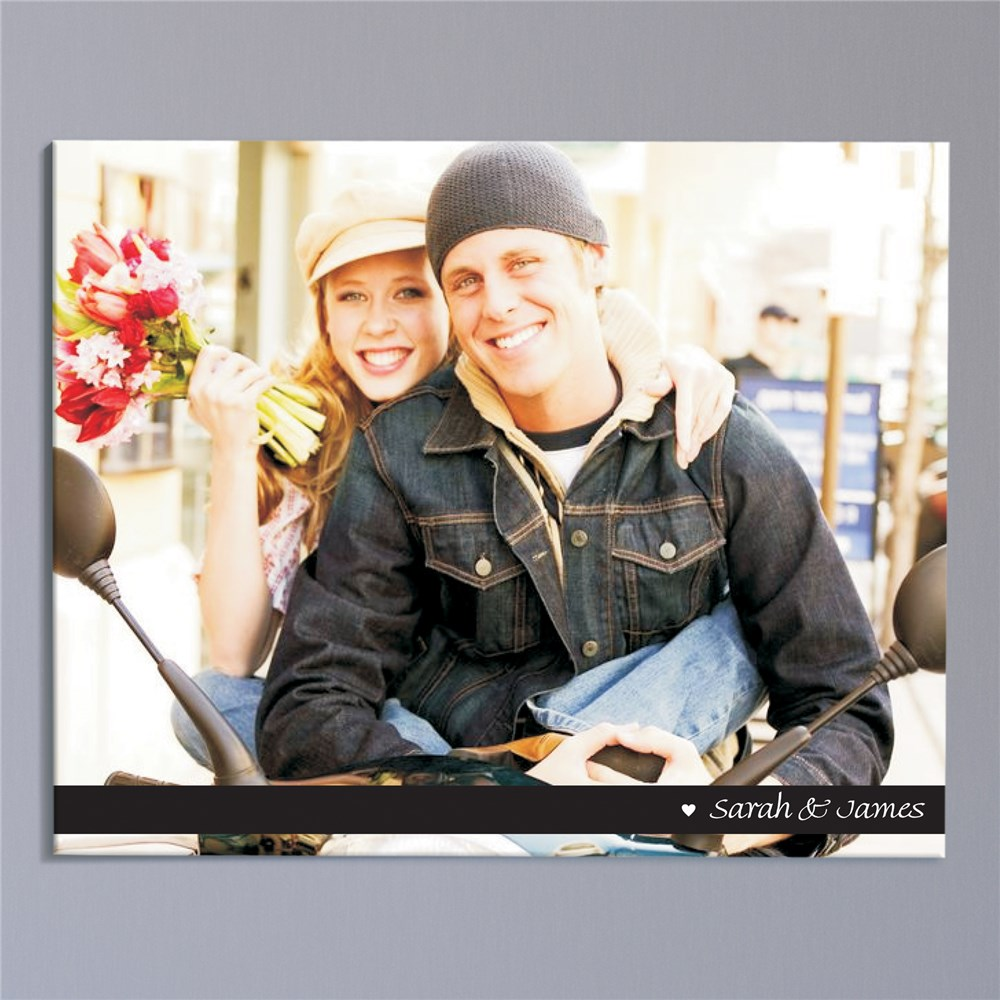 Personalized Couples Photo Wall Canvas | Personalized Couple Gifts