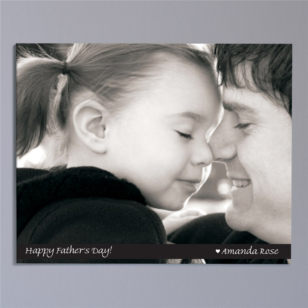 Picture Perfect Father's Day Photo Wall Canvas | Personalized Father's Day Gifts