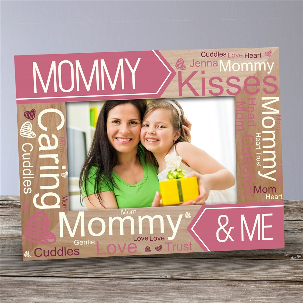 Personalized Wooden Picture Frames | Mommy and Me Gifts