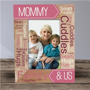 Personalized Banner Word Art Vertical Frame   914351VX