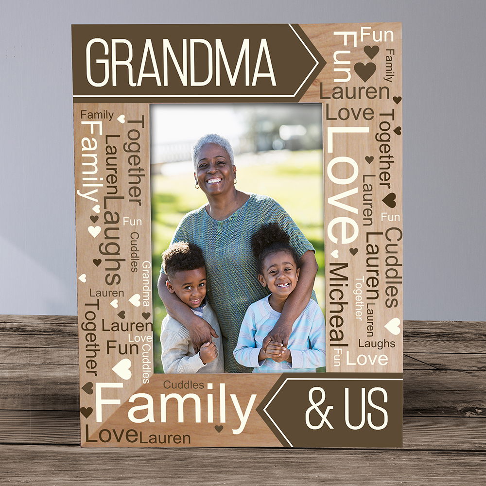 Picture Frames For Mom | Personalized Mommy And Me Frame