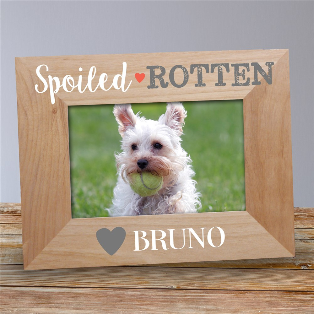 Personalized Pet Picture Frames | Gifts For Spoiled Pets
