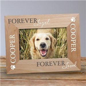 Personalized Pet Picture Frames | Loyal Pet Picture Frame