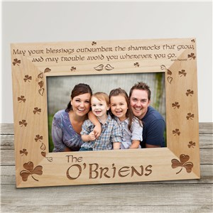 Personalized Wooden Picture Frames | Irish Photo Frames