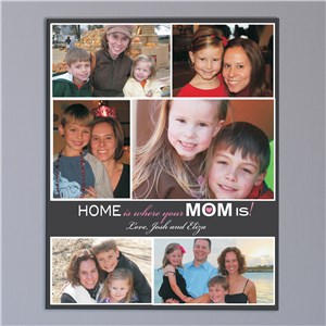 Personalized Mother's Day Photo Collage Wall Canvas 9165717