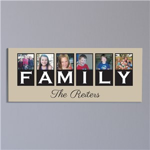 Personalized Family Photo Canvas | Canvas Prints