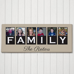 Personalized Family Photo Canvas 9170429