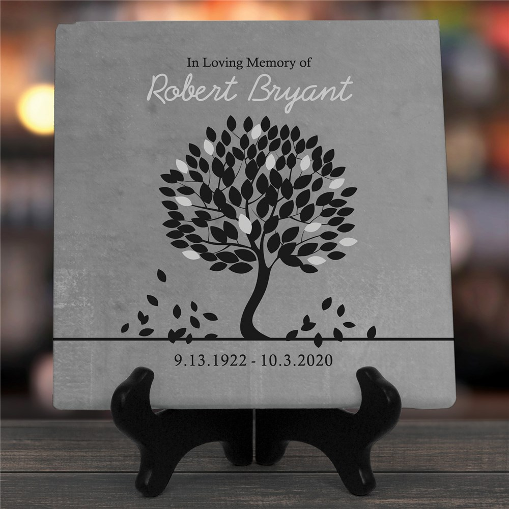 Personalized In Loving Memory Wall Canvas | Memorial Gifts