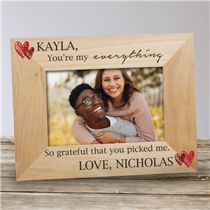 Personalized You're My Everything Wood Frame