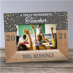 Personalized Truly Wonderful Wood Frame 9177771