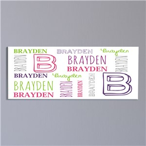 Kids Bedroom Wall Canvas | Personalized Gifts For Kids