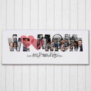 We Love You Photo Canvas 9194009
