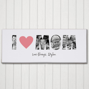 I Love You Photo Canas | Personalized Wall Art