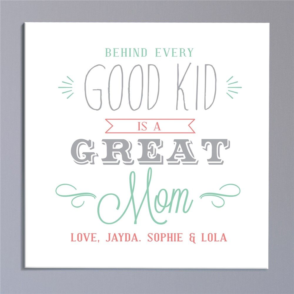 Sayings Personalized Canvas | Mother's Day Gifts