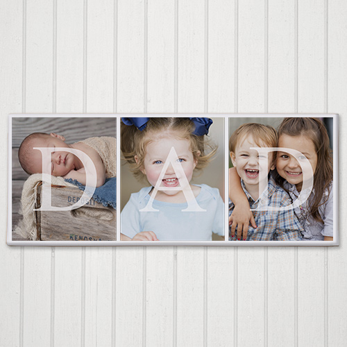 DAD Photo Canvas | Personalized Fathers Day Gift