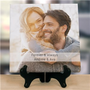 Forever & Always Photo Canvas | Couples Photo Canvas