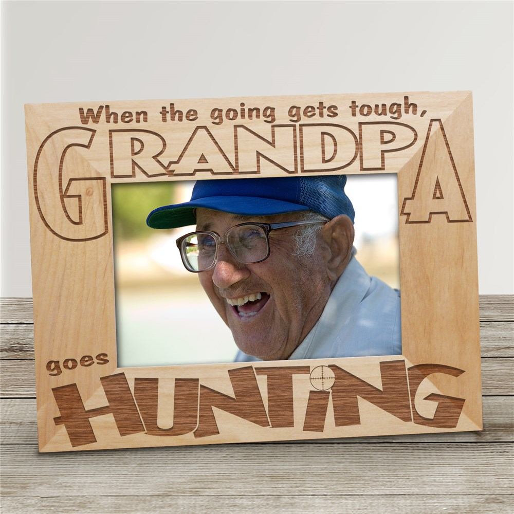 Hunting Photo Frame | Personalized Hunting Gifts