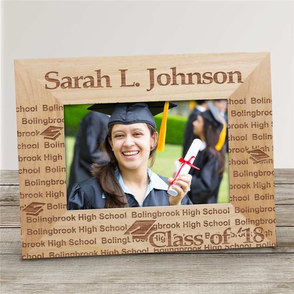 My Graduation Personalized Wooden Picture Frame | Graduation Picture Frames