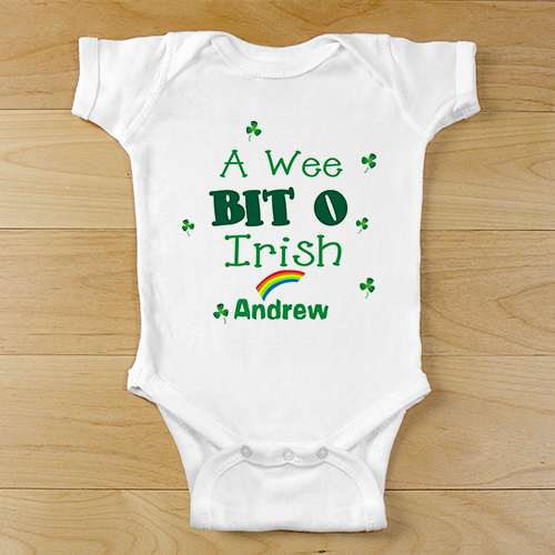 A Wee Bit O Irish Infant Creeper