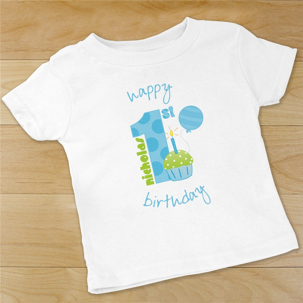 Baby Boy's 1st Birthday Apparel | Customized Baby Gifts