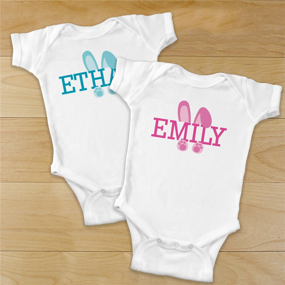 Personalized Baby Bodysuit | Easter Outfit For Baby
