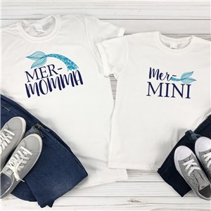Mommy and Me Matching TShirts | Mermaid Shirts