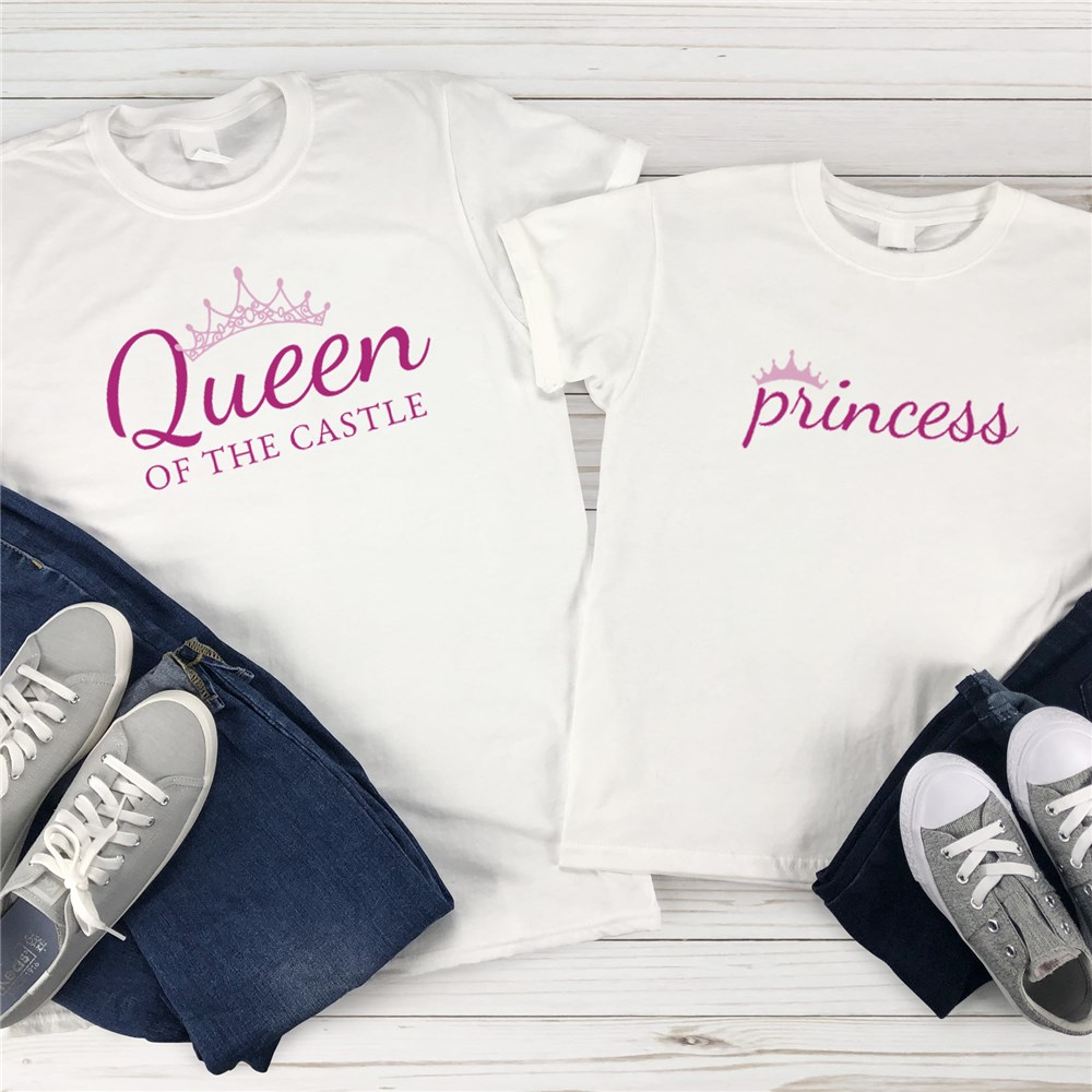 Mommy And Me T-Shirts | Queen and Princess Shirts