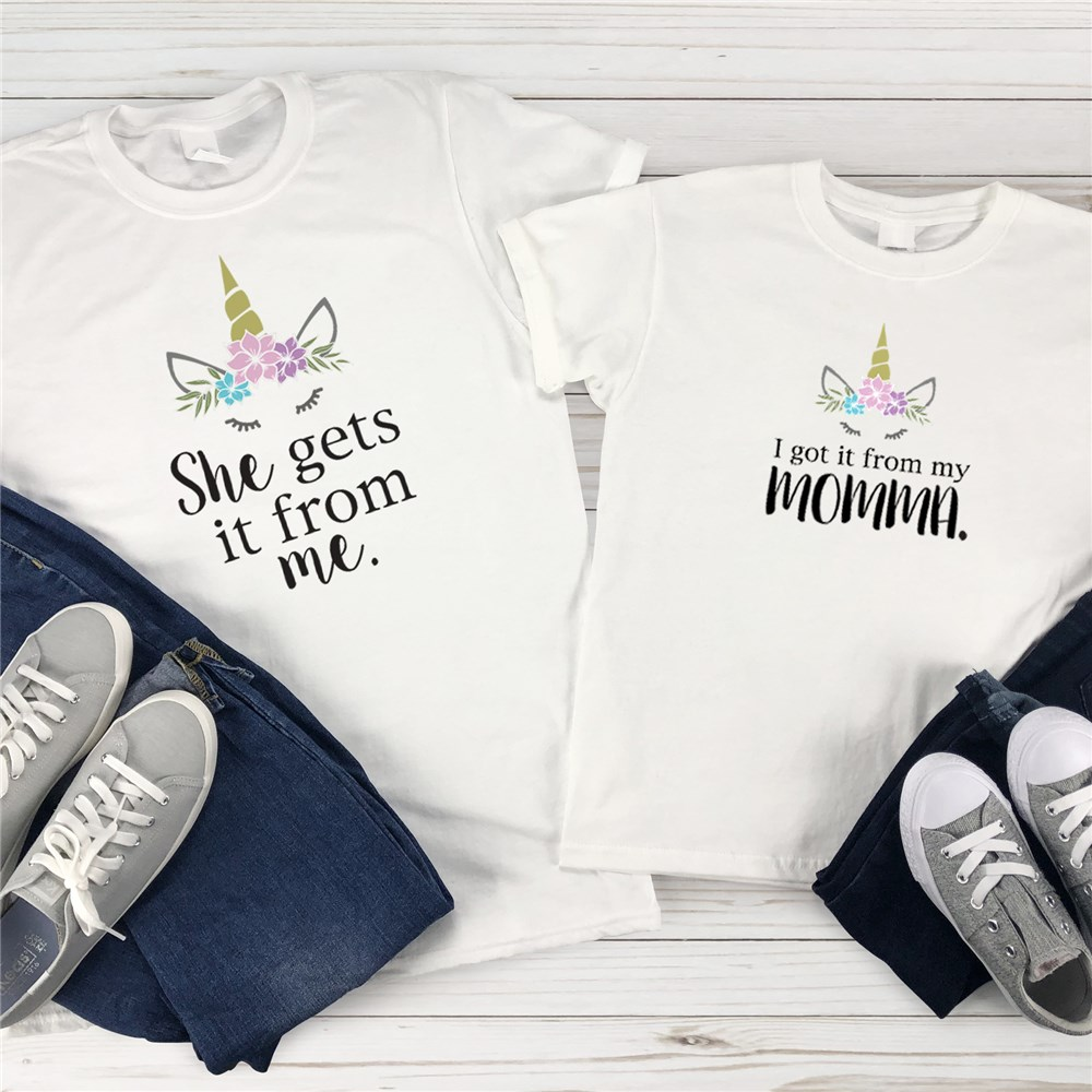 Matching Unicorn Shirts | Mommy and Me Shirts