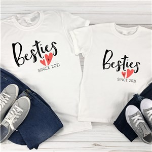 Personalized Bestie Shirts | Mommy and Me Shirts