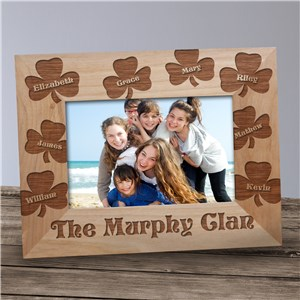 Personalized Wooden Picture Frames | Irish Picture Frames