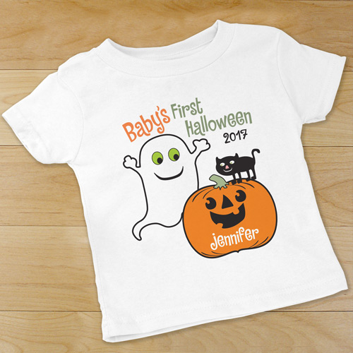 Personalized Babys First Halloween Infant Creeper | Halloween Shirts For Kids