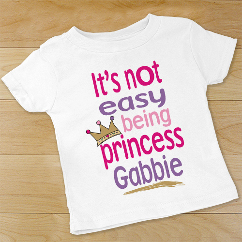 Personalized Princess Baby Outfit | Personalized Baby Gifts
