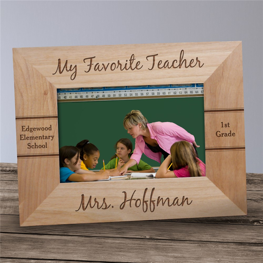 Personalized Teacher Picture Frame | Personalized Teacher Gifts