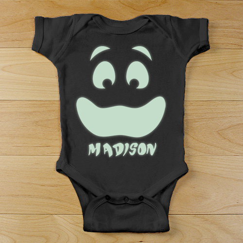 Personalized Ghost Infant Creeper | Personalized Halloween Onesies