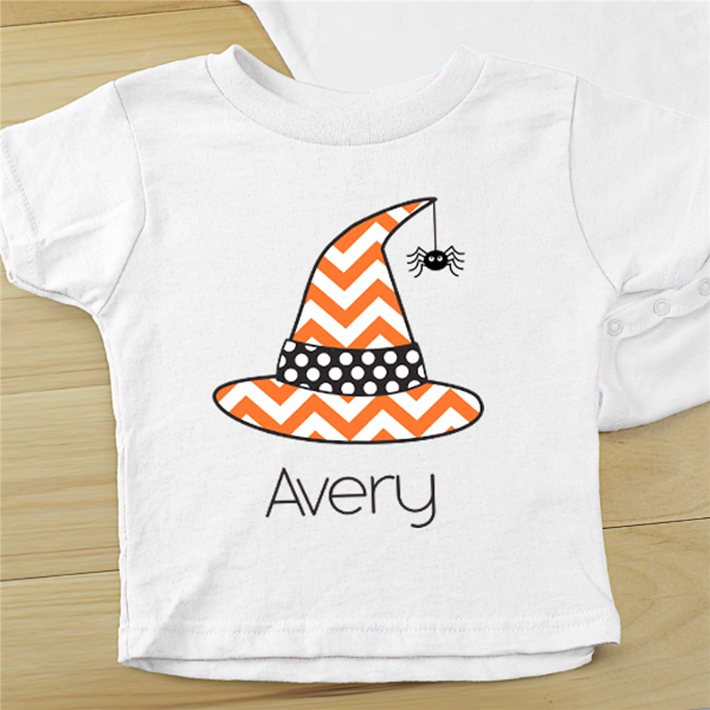 Personalized Little Witch Infant Apparel | Halloween Shirts For Kids