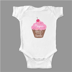 Personalized Little Sweetie Baby Bodysuit | Valentine Gifts For Children