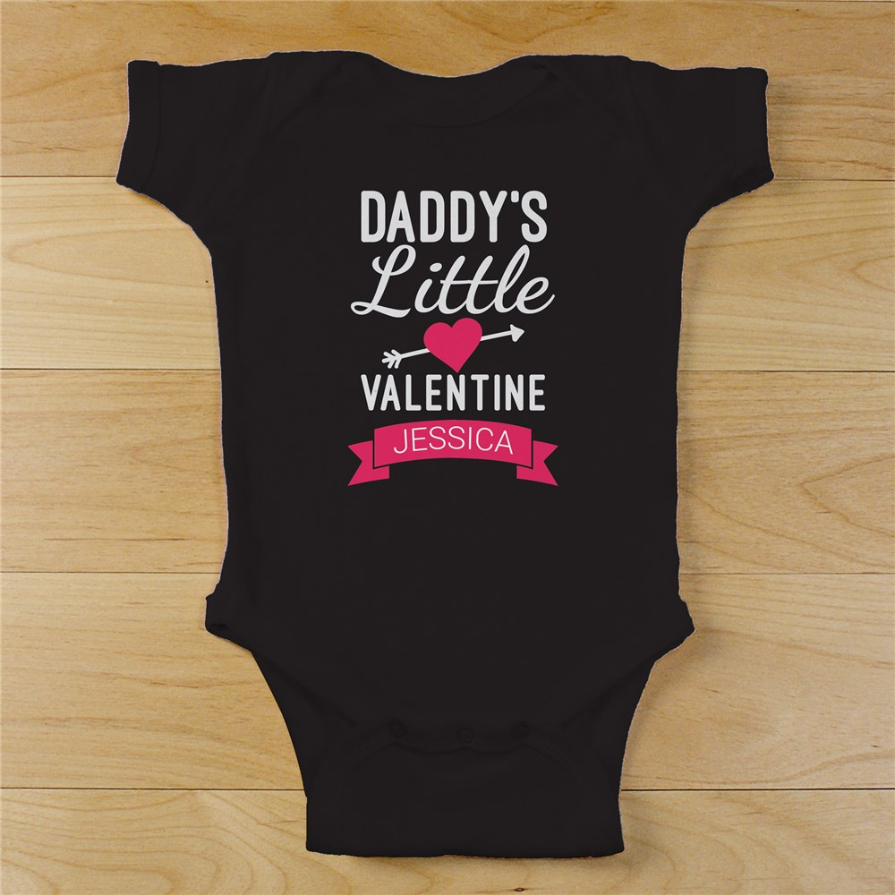 Personalized Little Valentine Onesie | Valentines Day Gifts For Kids